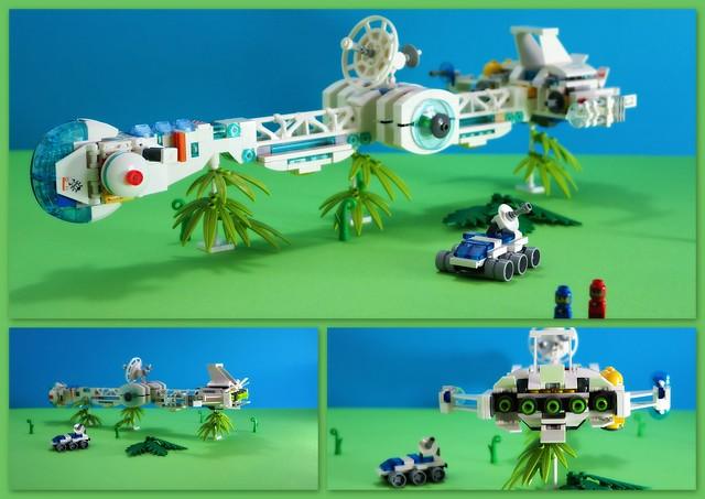 Lego  Colony-space ship