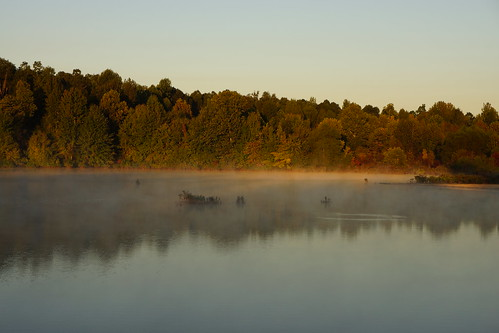 mist lake sunrise ar earlymorning arkansas meadowlake paragould
