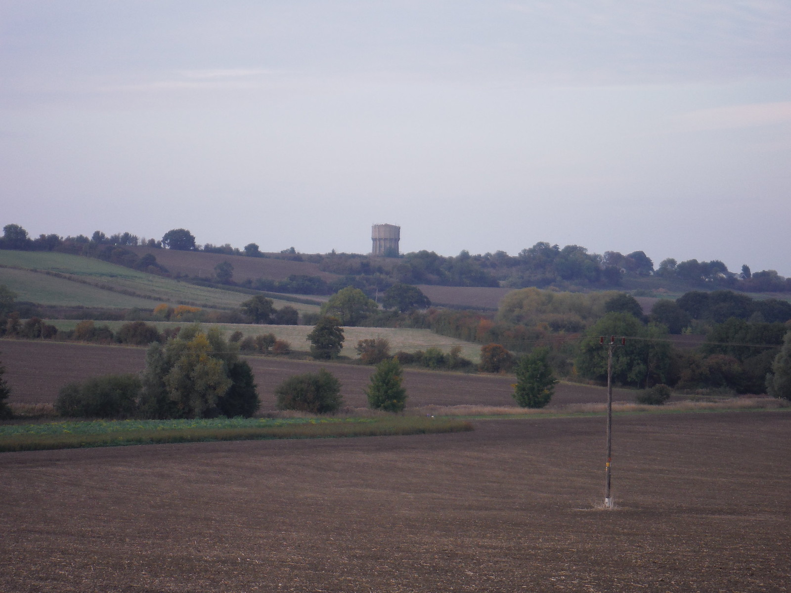 Pulloxhill Water Tower SWC Walk 229 Leagrave to Harlington