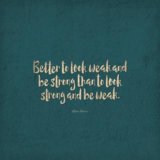 Hidden Strength (lock) | by Brett Jordan