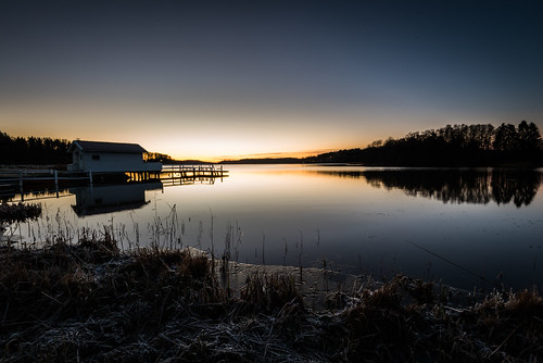 lee6nd2stop nikond750 afsnikkor16354gvr lee6gndhard stockholmslän sverige se outdoor sunrise sky water sweden serene skyline ice cold morning soluppgång