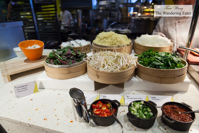 Asian condiments to top one's dishes