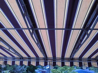 Striped Sunbrella Deck Awning Hoffman Website Www