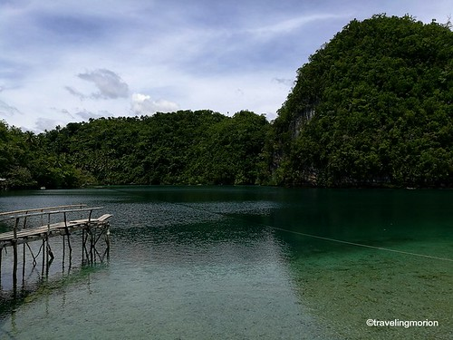 Lapsay Lagoon in Tagana-an, Surigao del Norte   by Traveling Morion