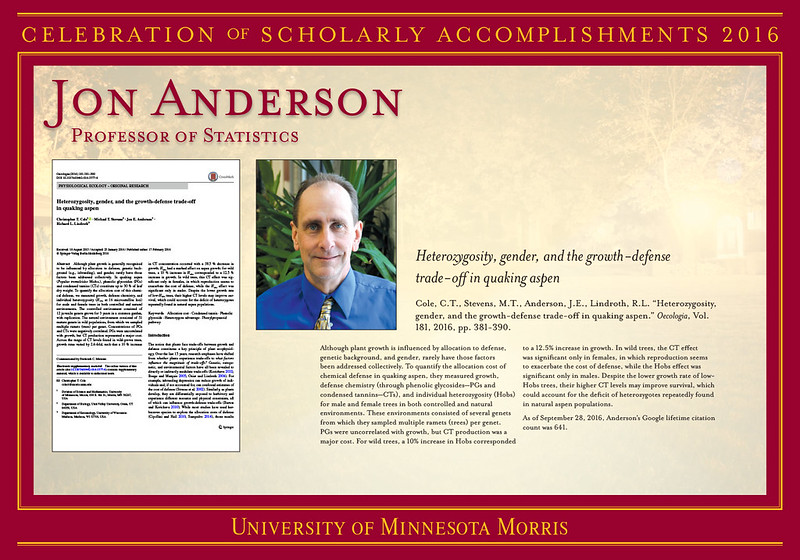 2016 Celebration of Scholarly Accomplishments Posters