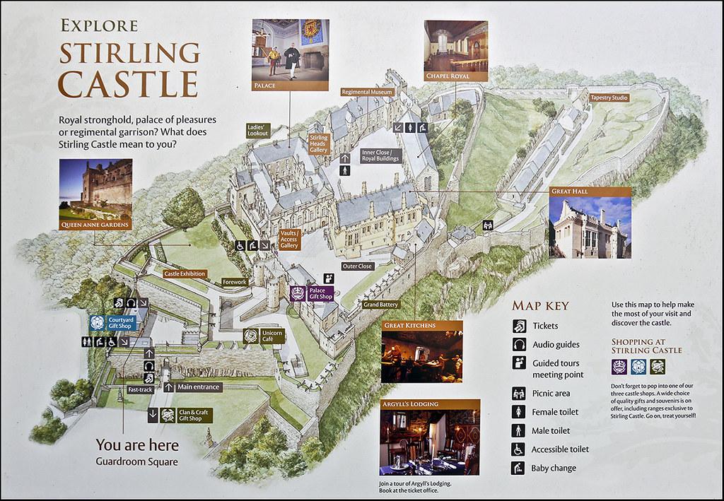 photo - Stirling Castle Map | Jy-50 | Flickr on
