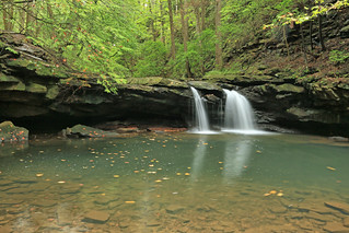 Blue Hole Falls, Big Fiery Gizzard Creek, Gizzard Cove, Grundy Forest State Natural Area, South Cumberland State Park, Grundy County, Tennessee 1 | by Alan Cressler