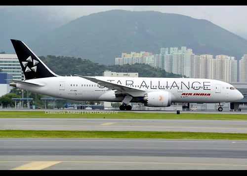 B787-8 | Air India | Star Alliance | VT-ANU | HKG | by Christian Junker | Photography