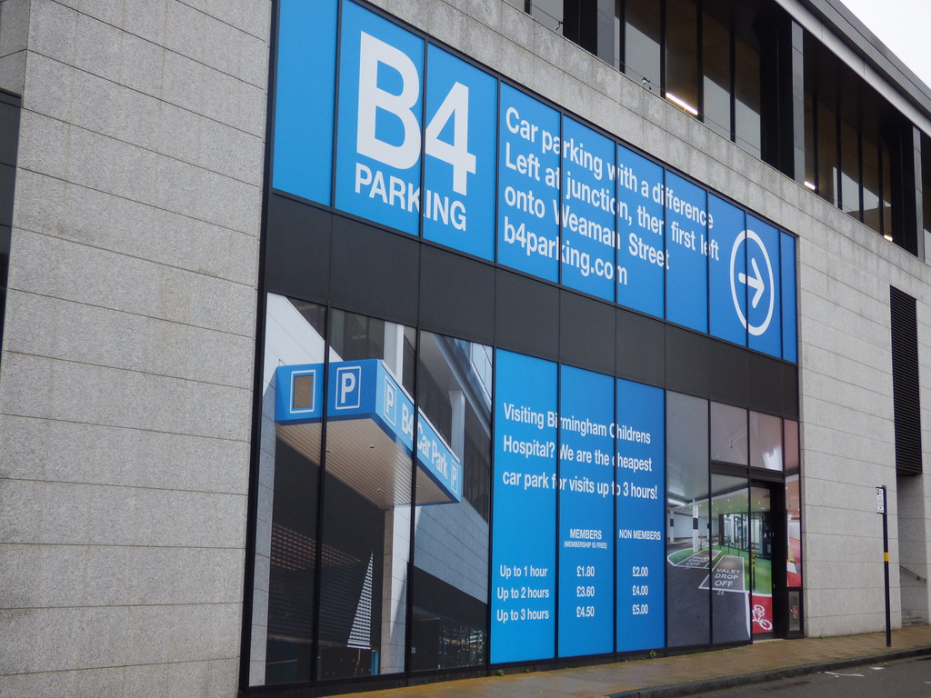 Image result for b4 car park birmingham
