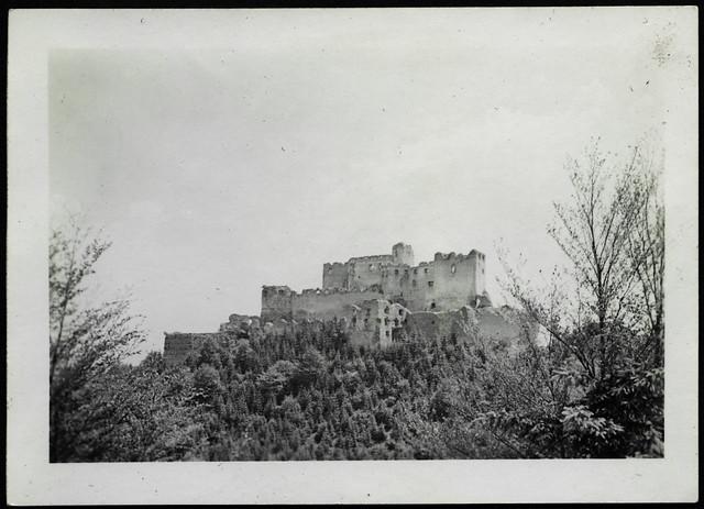 Archiv H503 Burg Lietava, Sudetenland, Slowakei (Tatra und Beskiden), 1930er