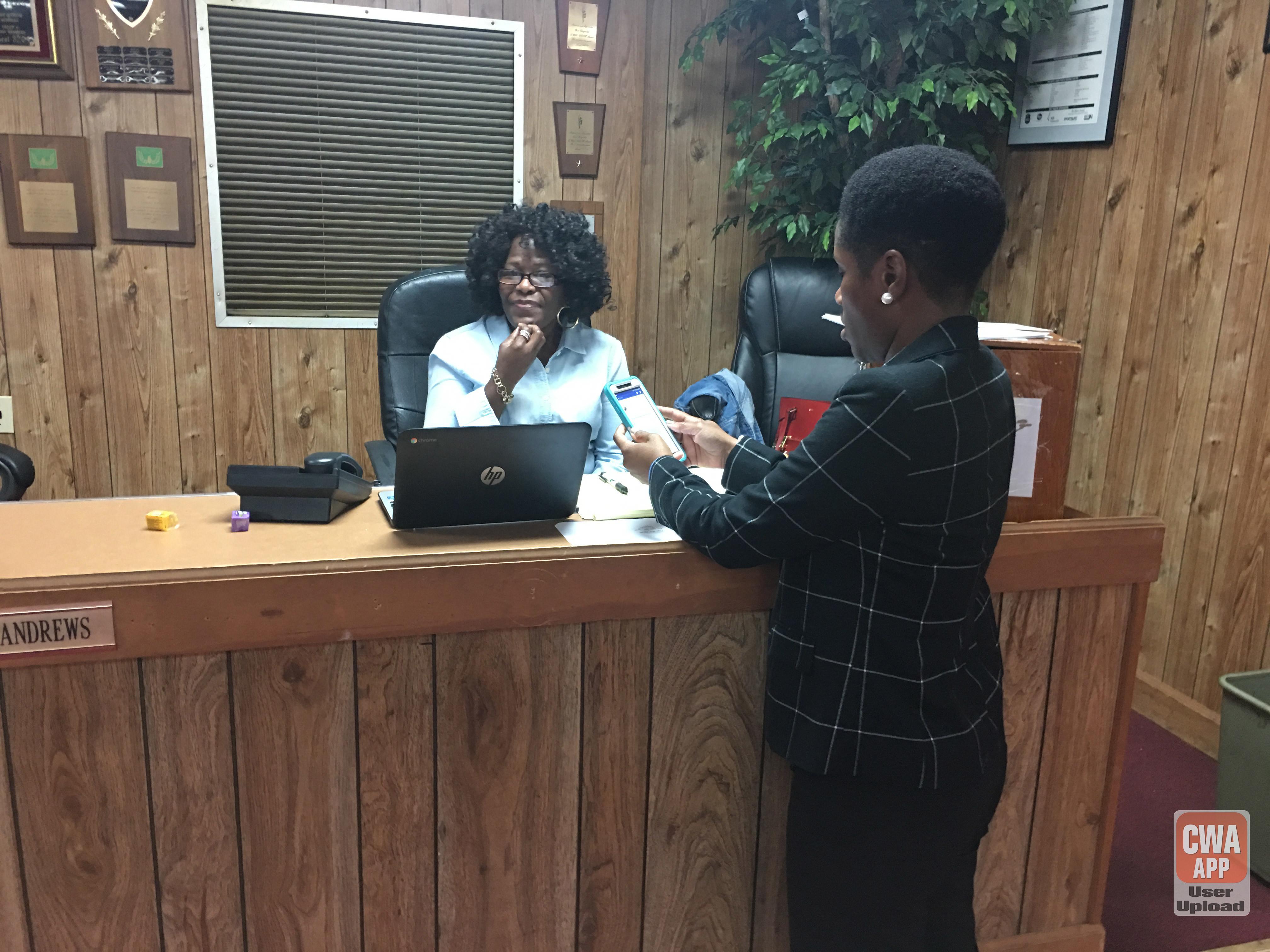 CWA Phone Bank at Local 3204