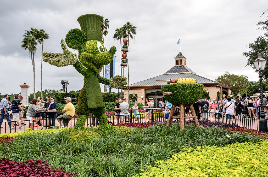 Mickey Food and Wine Epcot