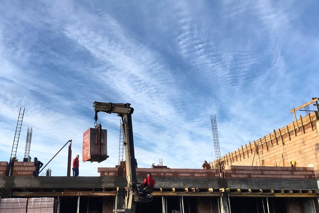 Dostawa cegły / Brick delivery
