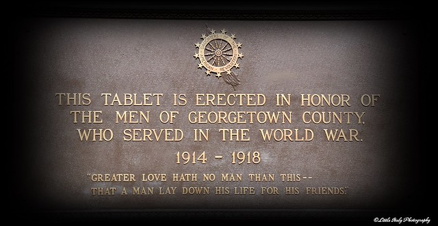 Georgetown County Courthouse - War Memorial