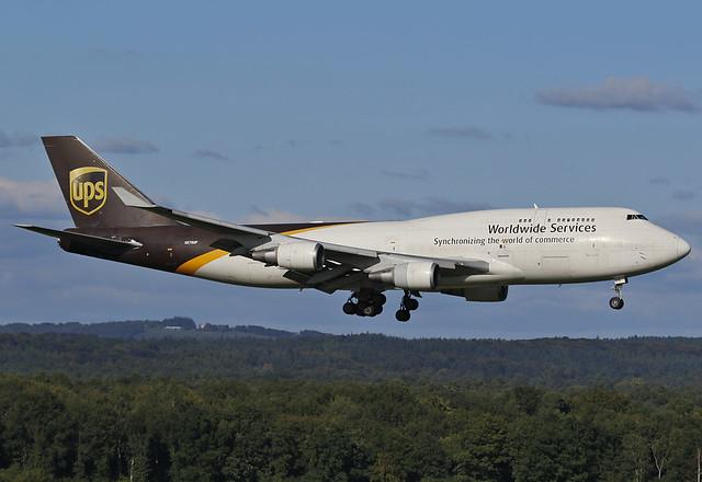 N578UP United Parcel Service (UPS) Boeing 747-45E(BCF)