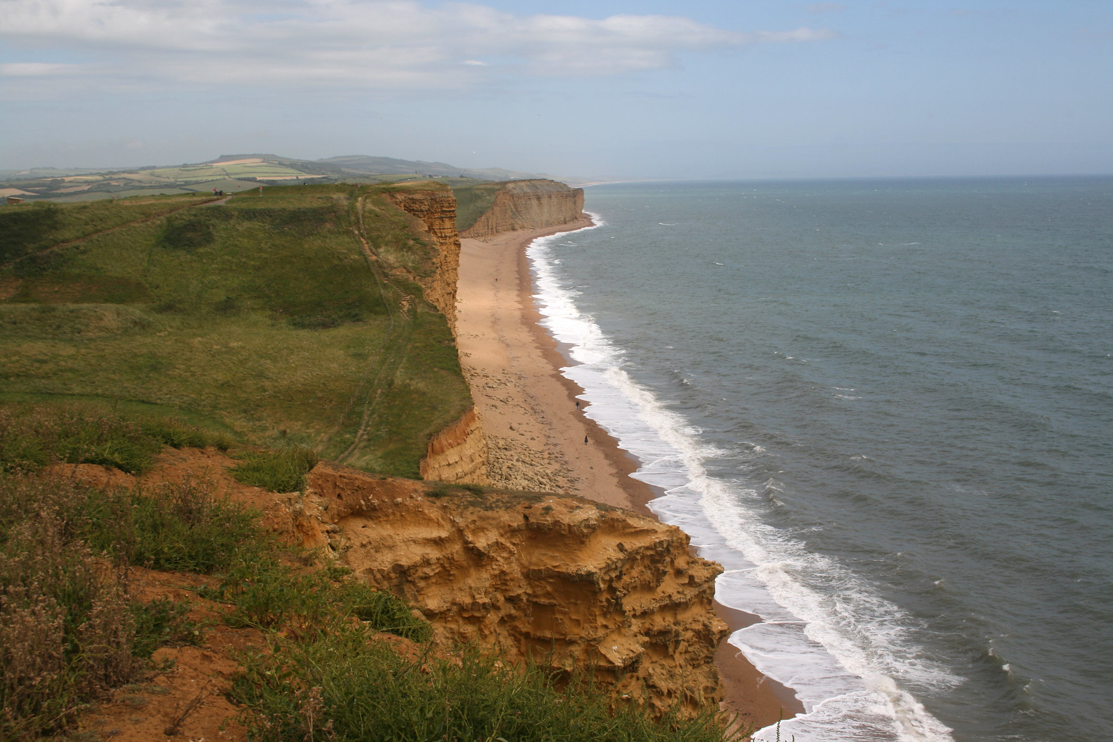 Burton Bradstock from West Bay