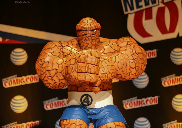 New York Comic Con 2015 - The Thing
