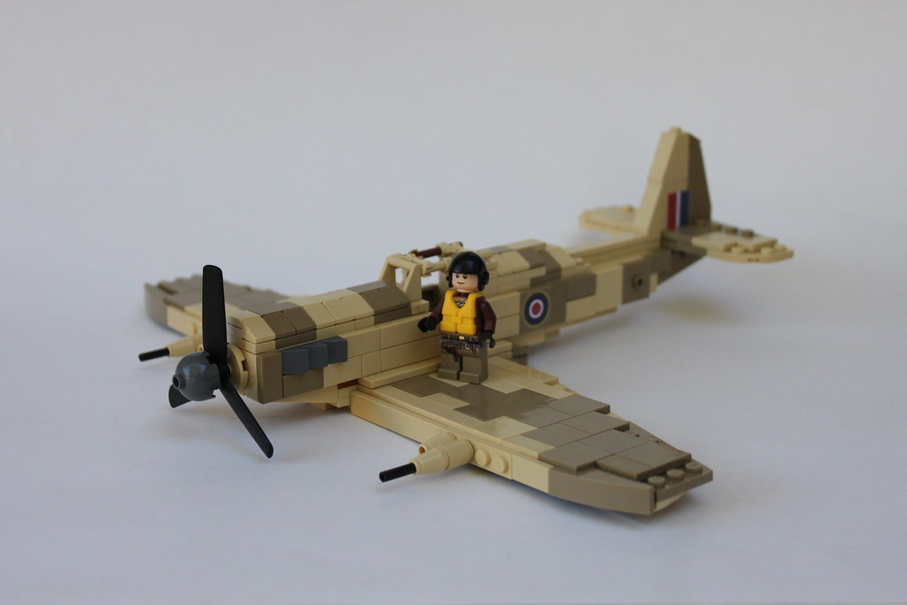 Spitfire MK VC Tropical | based on the brickmania version, b