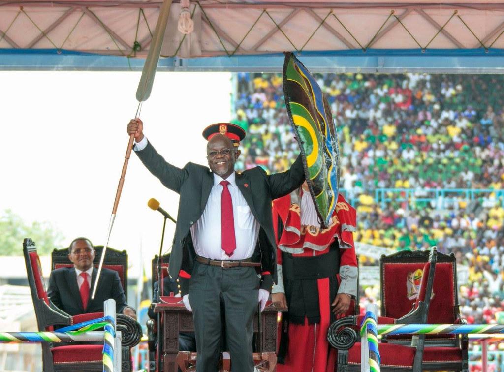Swearing in of President of Tanzania John Magufuli   Dar es Salaam, 5 November 2015