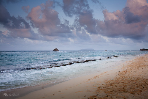 sunset mer plage coucherdesoleil caraibes océan