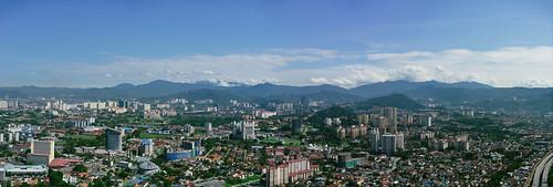 blue sky panorama mountains landscape pano vsco vscofilm vscofilm07