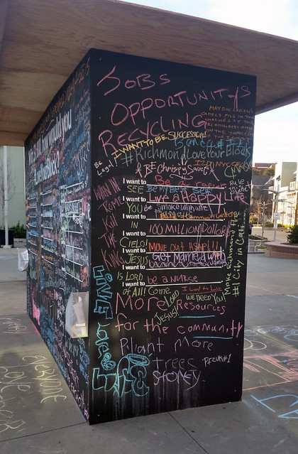 Before I Die - BART Art Installation