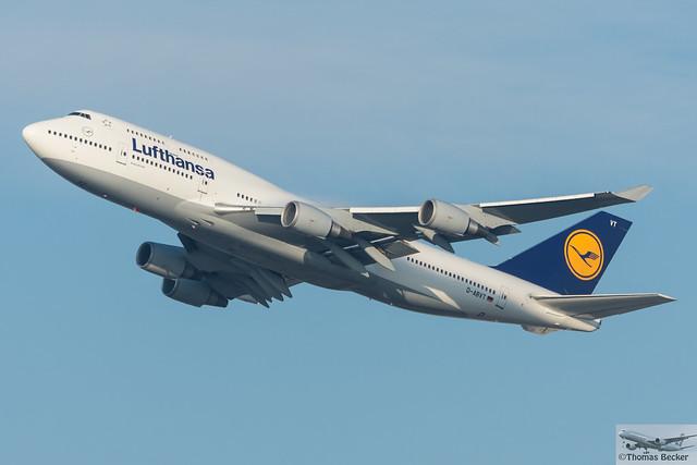 Lufthansa Boeing 747-430 D-ABVT (712291)