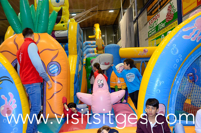 Parc de Nadal infantil