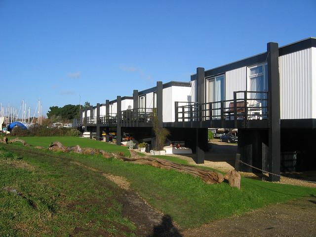 Raised houses in Emsworth
