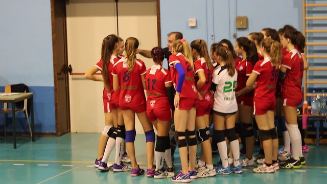 8 ottobre 2016 Amichevole  U16 Bianca Pro Patria vs Volley 3 - 1