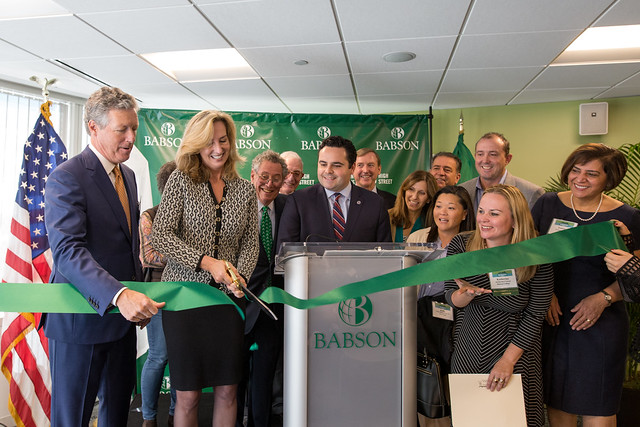 Babson Boston Grand Opening Celebration 2016
