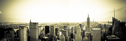 NY Panorama: View from the top