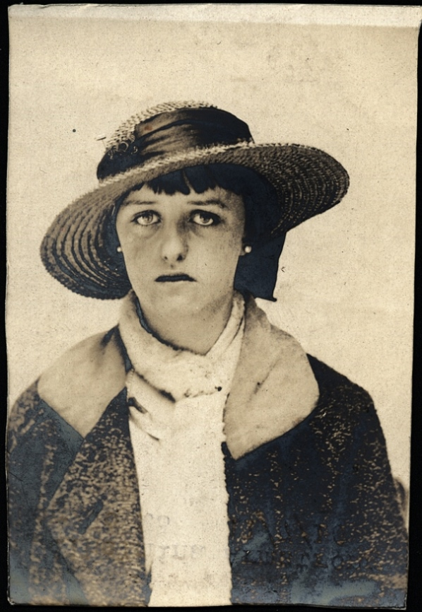 Wilhelmina Armstrong, arrested for stealing dresses