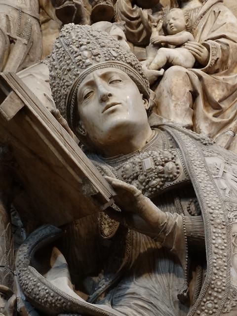 Catedral del Salvador - Ávila - Trasaltar - Sepulcro de El Tostado