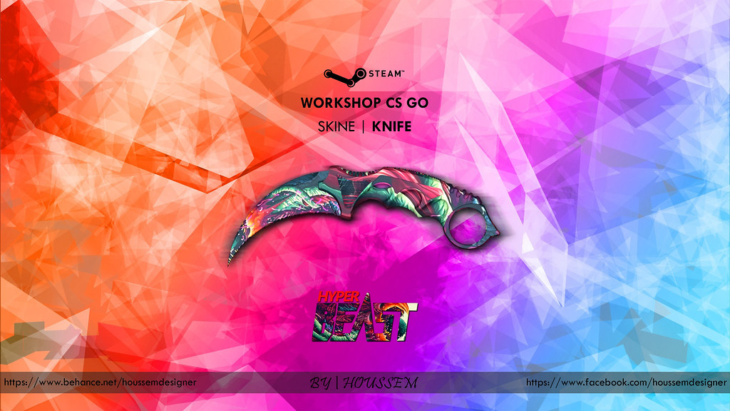 Wallpaper Knife Hyper Beast Houssem Designer Houssem