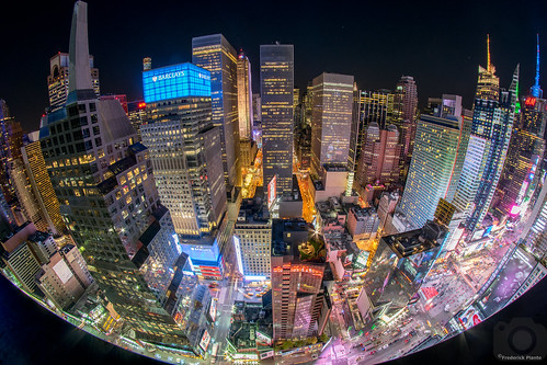 Time Square fisheye | by Fred_514