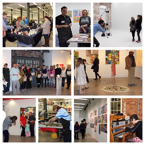 "The School of Art & Visual Studies kicked off the holiday celebrations at @ukfinearts this weekend with their first Open Studio in their new building! More fun continues today & tomorrow with UK Theatre's ""New Works Now!"" at Guignol Theatre & @ukchoirs ""C"