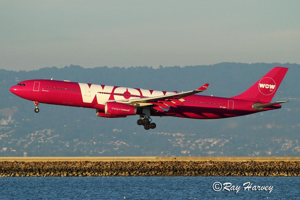 WOW Air @SFO