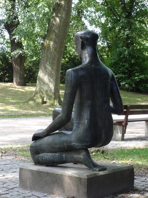1993 Rostock Reife von Reinhard Buch Bronze Oberwall in den Wallanlagen nördlich August-Bebel-Straße in 18055 Mitte