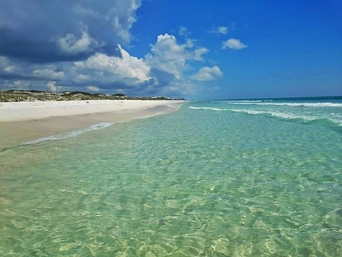 gulfofmexico nature beautiful sunshine clouds florida dunes whitesand gulfcoast 30a floridapanhandle emeraldwater graytonbeachstatepark