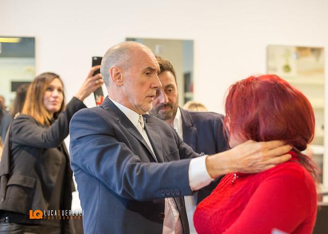 Inaugurazione Parrucchieri Larosa Corso Telesio 70 Torino ospitano Diego Dalla Palma