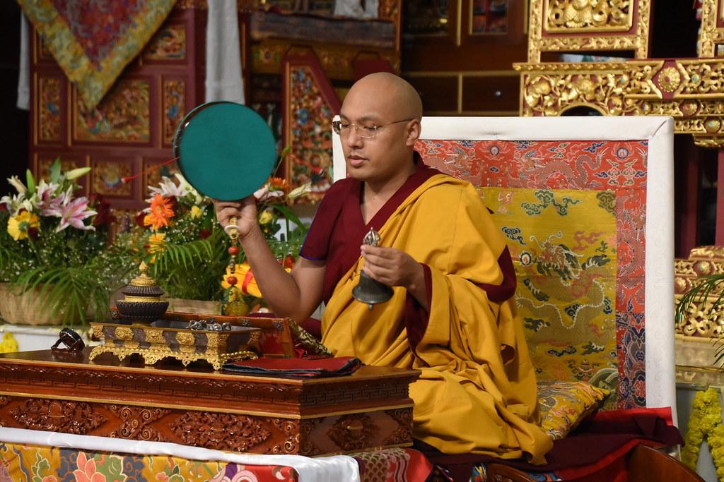 2016.02.02 Gyalwang Karmapa Presides Over a Day of Chö Puja