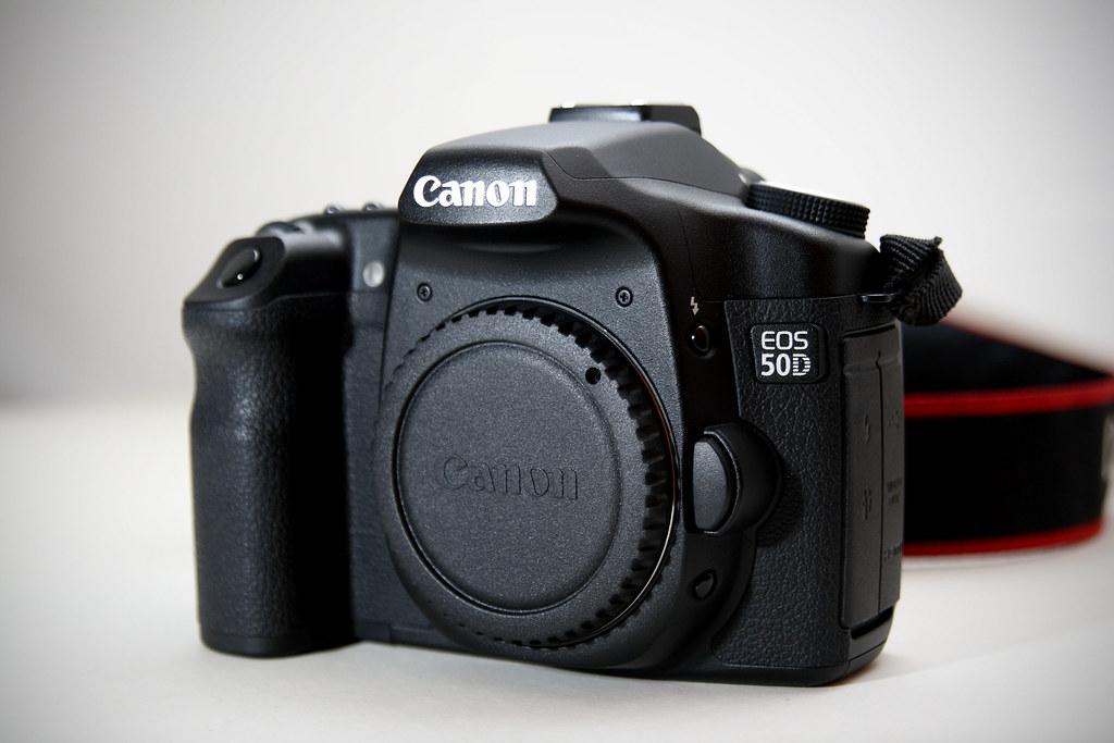 我的 Canon EOS 50D