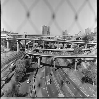 Tangle of highways, Bronx