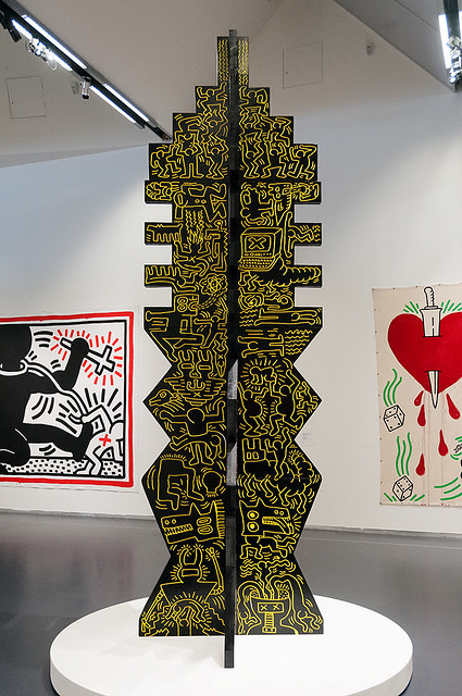Keith Haring - Untitled (TOTEM), 1983
