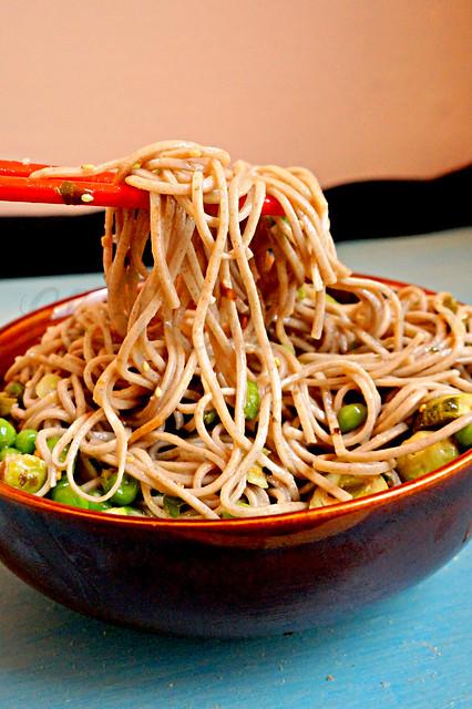 Buckwheat Noodle Salad -edit