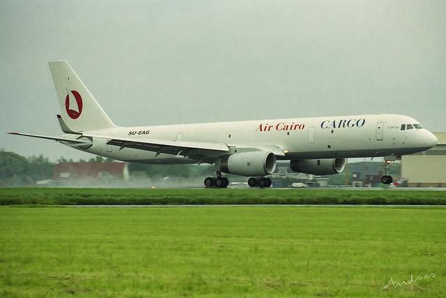 SU-EAG, Air Cairo Cargo Tupolev Tu-204-120C, OST
