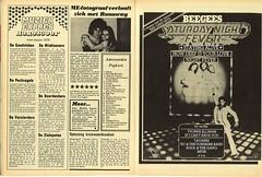 Muziek Expres ME Krant Saturday Night Fever ad