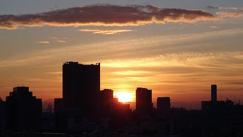tokyo japan sunrise minatoku explored explore