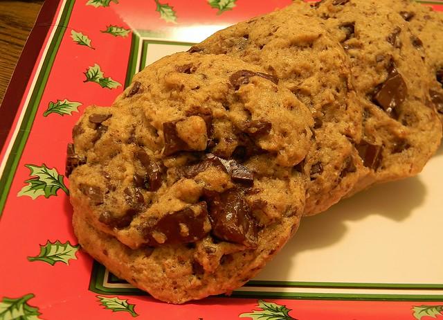 Kinako Chocolate Chip Cookie